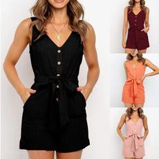 bodysuitlingerie, Deep V-Neck, nightwear, Fashion