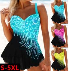 Summer, Plus Size, Ladies Fashion, bathing suit