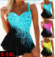 Summer, Plus Size, Ladies Fashion, bathing suit