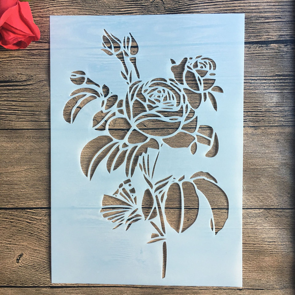 Decorative, stencil, Scrapbooking, Stamps