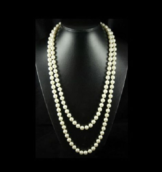 pinkshellpearl, 8MM, Chain Necklace, Fashion