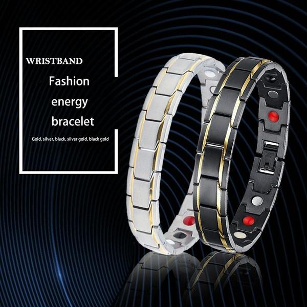 Steel, Stainless, energybracelet, Fashion