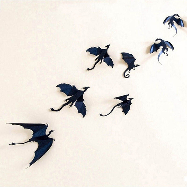 PVC wall stickers, Goth, walldecoration, Stickers