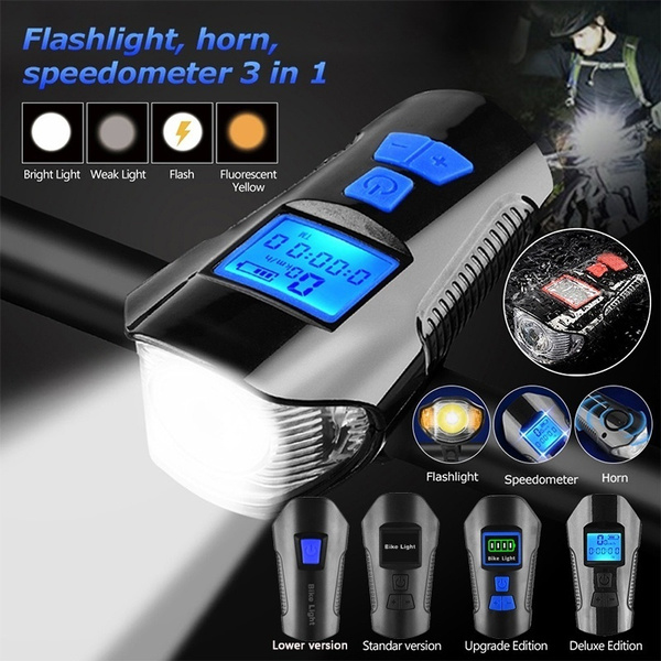 Flashlight, bicyclelightlamp, Bicycle, Sports & Outdoors
