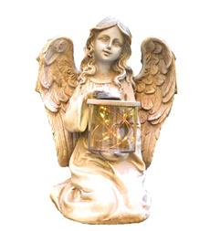 Decor, led, Garden, Angel