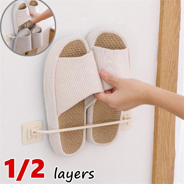 shoesrack, Bathroom, Home & Living, adhesiveshoesrack