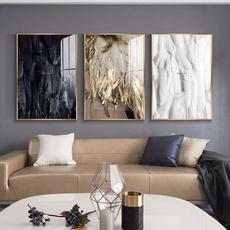golden, Decor, Wall Art, canvaspainting