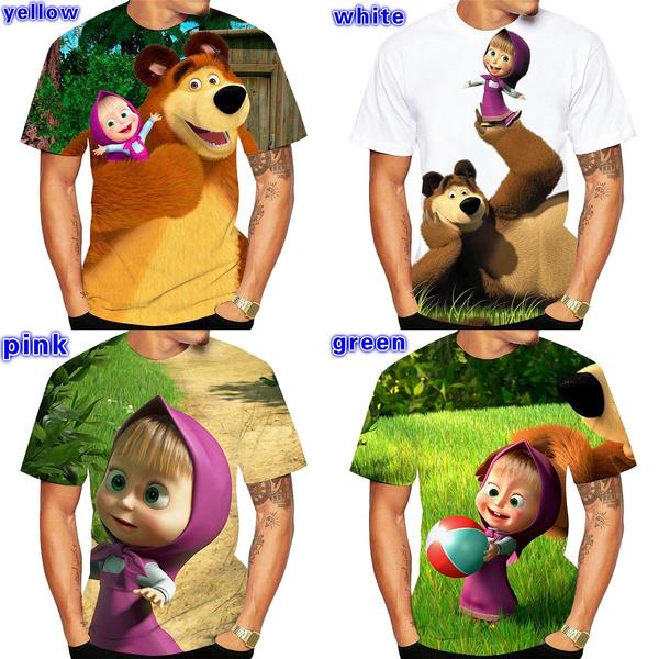 Funny, Fashion, Shirt, mashaandbeartshirt