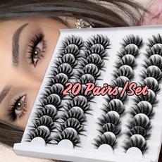 eyelshextension, False Eyelashes, 20pairseyelashe, Beauty