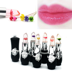 Makeup, Flowers, transparentlipstick, Lipstick
