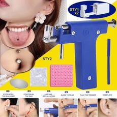 Steel, Stud, perforatedstud, Stud Earring