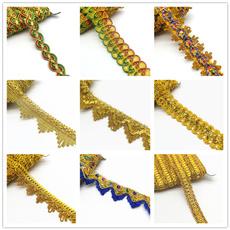 Lace, sewinglace, pompomfringeribbon, Sewing