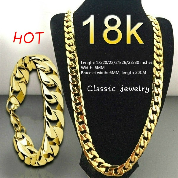 Jewelry Set, Chain Necklace, mens necklaces, punk necklace