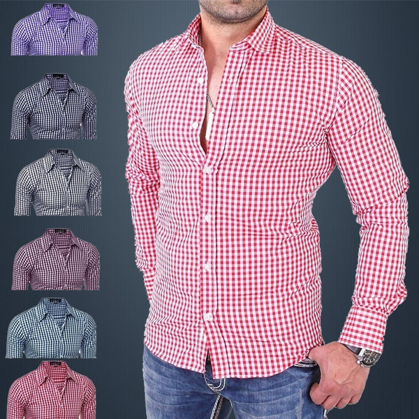 plaid shirt, plaid, formal shirt, Shirt