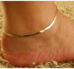 beachankletchain, Sandals, Anklets, Chain