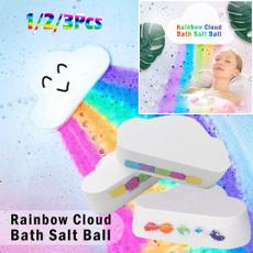 prettysaltball, showersaltbombball, Shower, rainbow