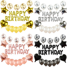 happybirthday, Heart, foilballoon, Jewelry
