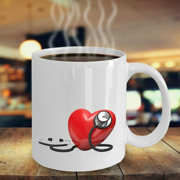 Heart, Coffee, 11oz, Cup
