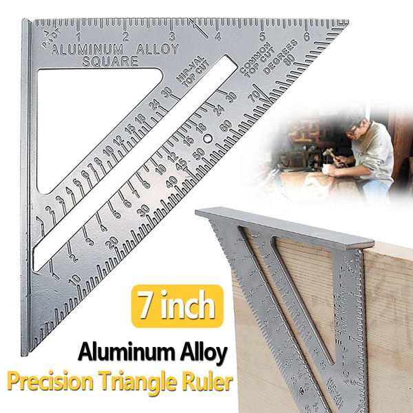 Triangles, speedprotractor, measurementtool, Aluminum
