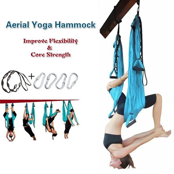 Indoor, Yoga, hammock, Fitness