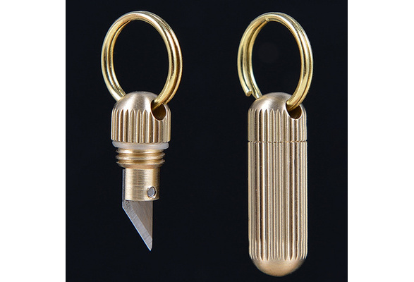 CE66 Key Ring Detachable QR Outdoor Swivel Keychain Carabiner Keyring Edc