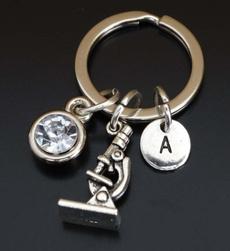Keys, Key Chain, Jewelry, microscopekeychain