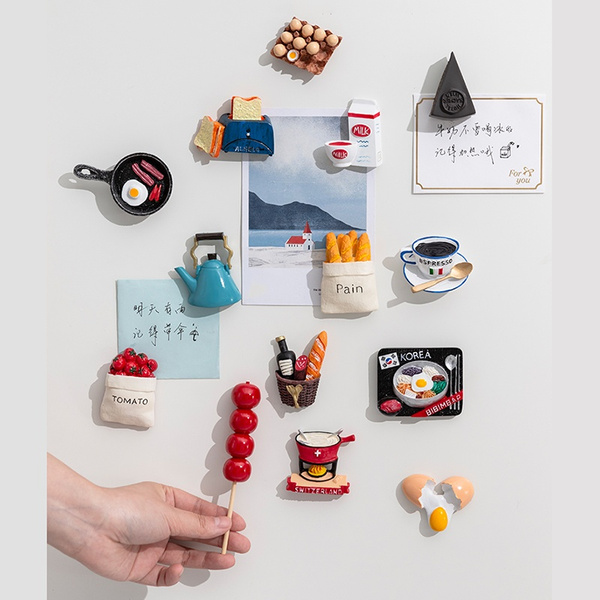 cute, Kitchen & Dining, Magnet, resinmagnet