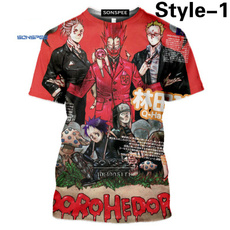 japananimetshirt, dorohedorotshirt, Fashion, Summer