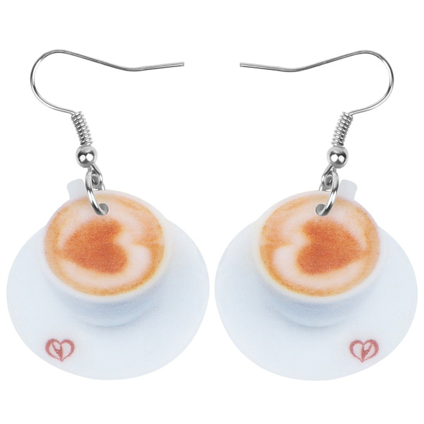Heart, Coffee, Love, Ornament
