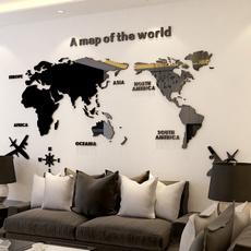 Home Decor, Office, 3dwallsticker, walldecoration
