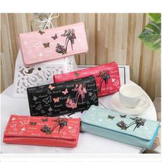 puleatherwallet, butterfly, longwalletforwomen, cute wallet