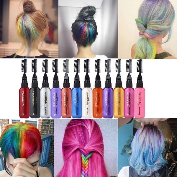 hairchalk, dyehaircream, hairchalkdye, Beauty