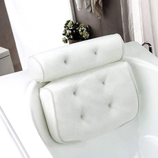 suctioncup, Bathroom, meshbathpillow, Waterproof