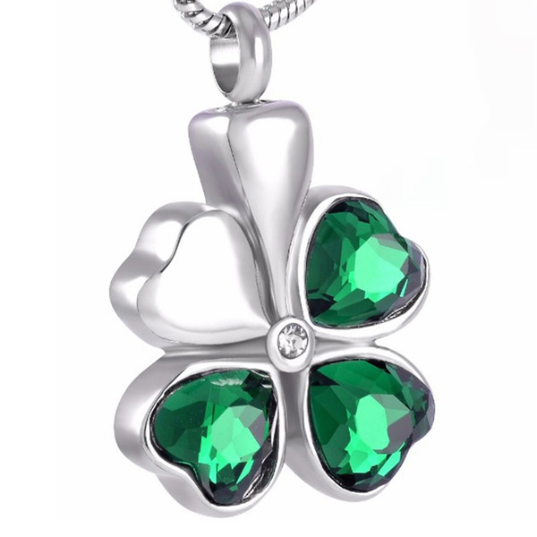 cremation, Jewelry, for, Clover