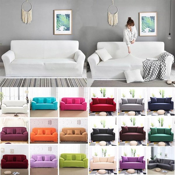 cornersofacover, Polyester, sofabezug, Elastic