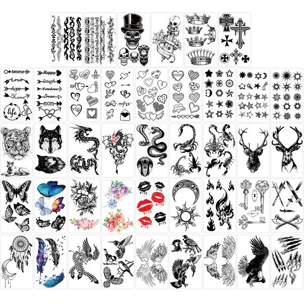 tattoo, Fashion, waterprooftattoosticker, Waterproof
