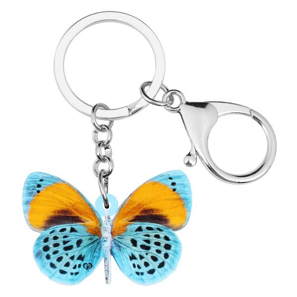 butterfly, butterflyprint, keychainskeyring, cute