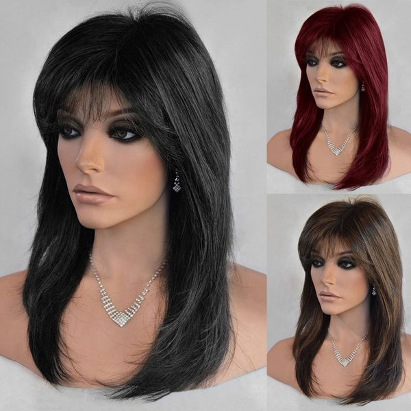 wig, inclinedbang, Fashion, Cosplay