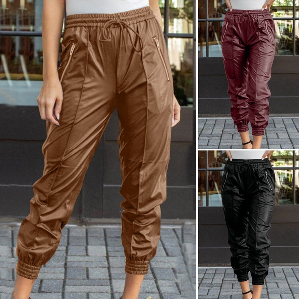 Women Pants, womenhose, Plus Size, Elastic