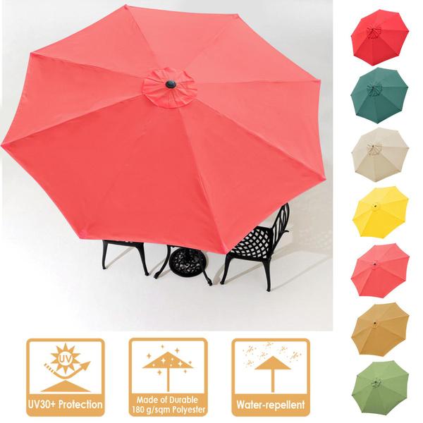 outdoorumbrellacanopy, Outdoor, faderesistanceumbrellareplacementtop, poolumbrellareplacementtop