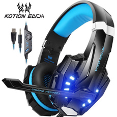 Auriculares, Microphone, led, Bass
