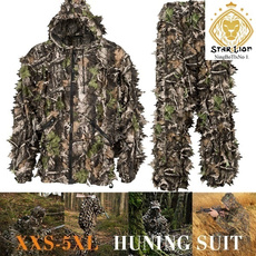 ghlliesuit, Fashion, leaf, Hunting