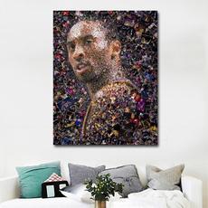 Star, Decor, Basketball, Wall Art