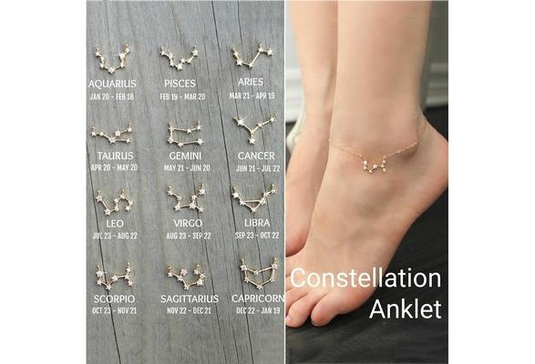 stone anklet bridesmaid gift gold and silver ankle Ankle bracelet star of David anklet opal anklet turquoise anklet charm anklet