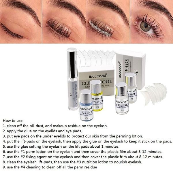 Eyelashes, eyelashliftkit, Home & Living, eyelashcurlingperming