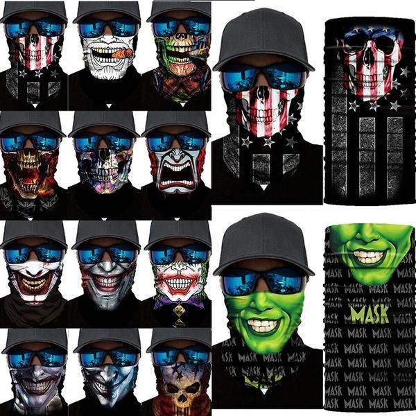jokermask, ridingmask, Fashion, halffacemask