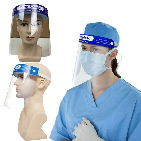 2 Pieces de sécurité Full Face Shield avec éponge confortable Qualité SKL
