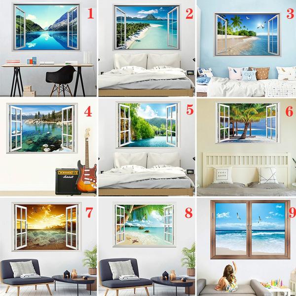 landscapewallsticker, 3ddiywallsticker, diywallsticker, Stickers