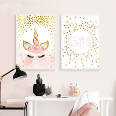cartoonposter, art, Home Decor, canvaspainting