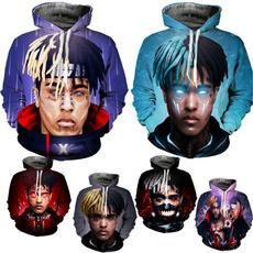 3D hoodies, Fashion, rappershirt, xxxtentacion